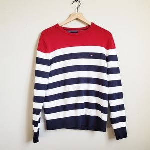 Vintage 1980's Tommy Hilfiger Striped Sweater